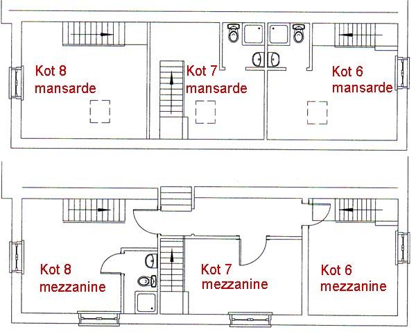 Maisonetudiantslesmoulins maison chambres kot kots studio etudiants tudiants namur - Studio plan met mezzanine ...